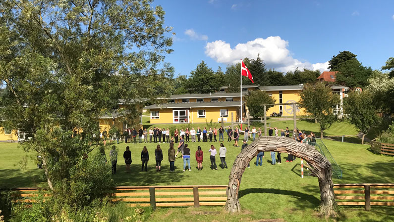 Nye elevers dag på Efterskolen Ådalen